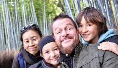 Kyoto family portrait