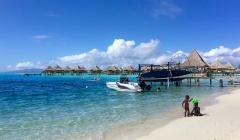 Traveling with Kids to Bora Bora