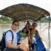 crossing border by boat from Huay Xai Lao to Chang Kong Thailand.2