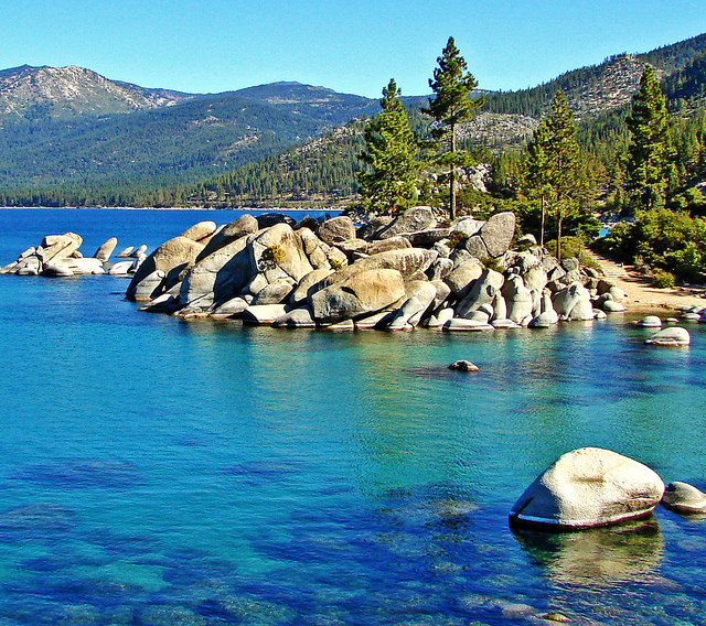 2. Sand Harbor Popular Dive Site on   Tahoe - Photo Credit - Flickr - Don Graham