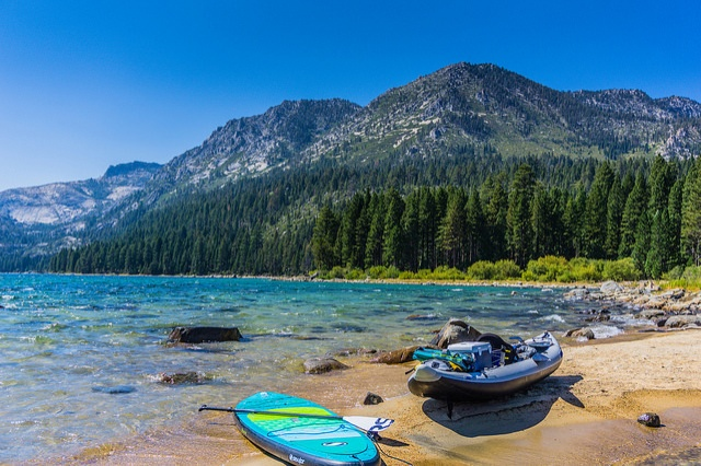 5. SUP and Kayak on Lake Tahoe -   Photo Credit - Flickr - Adventures On Wheels