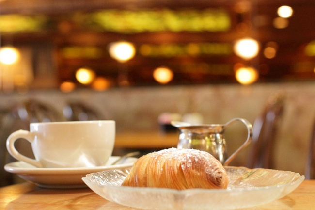 Meal Of Sfogliatelle - Naples, Itlay