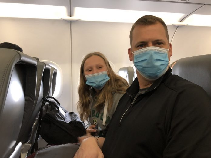 Traveling On An Airplane With Kids During Covid-19